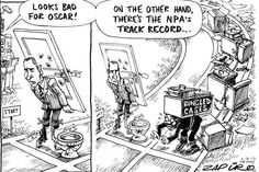 Zapiro: Oscar Pistorius and the NPA - Hard hitting