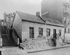 Cambridge Street by Powerhouse Museum Collection Mermaid Hotel, The Rocks Sydney, Gloucester Street, Cambridge Street, Sydney City, Old Pub, Historical Images, Museum Collection, Old Photos