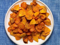 Carrot and Sweet Potato Oven Fries Recipe... It will take you 20 minutes to have these with your dinner tonight. They aren't fried, they are baked. However, they are just as crunchy and delicious!