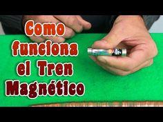 Como hacer un tren magnético casero  │ Experimento │Magnetismo - YouTube