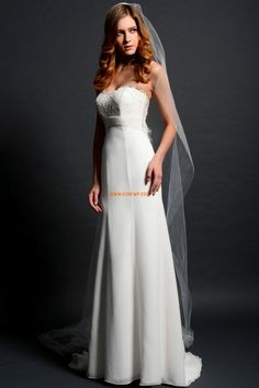 new dinner maxi brides maid vestidos formales white long chiffon wedding beaded bridal belt gowns Mother of the Bride Dresses. Casual Wedding Gowns, Chiffon Wedding Gowns, White Bridal Dresses, Lace Wedding Dress With Sleeves, Wedding Dresses 2014, Wedding Dress Train, Applique Wedding Dress, Wedding Dresses Plus Size, Chiffon Gown