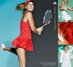 Stella McCartney Tennis Apparel