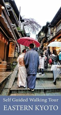 Walking route for Eastern Kyoto