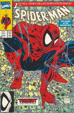 Visit shoppingkind.com Spiderman, by Todd McFarlane