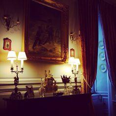 #bonjour#bomdia#goodmorning The diningRoom of #laMontchevalleraie at the start of The day (à Chateau De La Montchevaleraie)