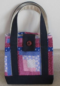 Sew Your Own Tote Bag with These Free Patterns: Free Sewing Patterns For an Adorable Stylish Handbag or Lunch Sack