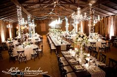 """""""The Venue."""" > Wow, right nearby in Scottsdale (AZ)! This is nice. The barn is lovely, and I love the furniture and chandeliers... The up-lighting's a nice touch, too! Almost perfect, with a few decor tweaks and additions. Just sayin'. More locations: http://guide.rusticweddingchic.com/arizona/wedding-venues-az"""