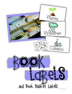These themed labels have really helped me out in the long run and to minimize the