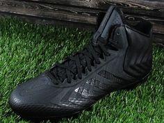 Mens Adidas CrazyQuick (Crazy Quick) Mid Molded Football Cleats Black #Adidas
