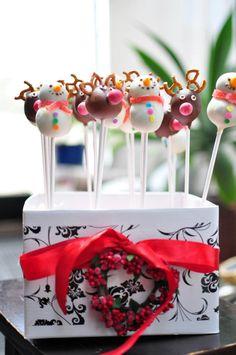 Christmas fun cakepops :)