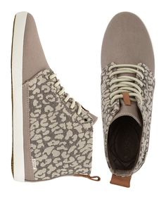 This Tan Leopard Reef Winter Wall Hi-Top Sneaker - Women by Reef is perfect! #zulilyfinds