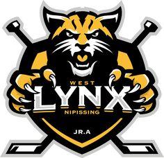 West Nipissing Lynx (Sturgeon Falls, Ontario) Div: North #WestNipissingLynx #SturgeonFalls #GMHL #Ontario (L16616)