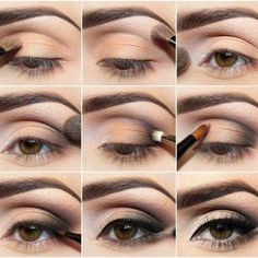 Natural bridal eye make up