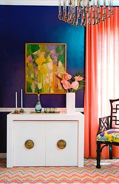 Dream Home: Caitlin Wilson Design ~ Time for interior Color Inspiration, Interior Inspiration, Bathroom Inspiration, Painting Inspiration, Gouts Et Couleurs, Room Photo, Caitlin Wilson Design, Colourful Living Room, Colorful Rooms