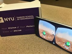 Admitted Tandon students will get to tour Mars through virtual reality goggles.