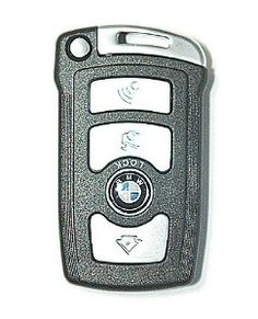 BMW Emblem 7 Series Uncut Blade Smart Key Keyless Entry Remote Shell Case by BMW. $32.99. BMW Emblem 7 Series Uncut Blade Smart Key Keyless Entry Remote Shell Case       Features:  Details:Replacement Fob remote case   weight:40g  Please note: NO interior (remote/electronics/transponder chips) unit inside   Works With:        BMW 745Li 2002 2003 2004 2005  BMW 745i 2002 2003 2004 2005  BMW 760i 2004 2005 2006  BMW 750Li 2006 2007 2008  BMW 750i 2006 2007 2008