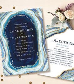 57 Trendy And Chic Geode Wedding Ideas Wedding Party Invites, Wedding Pins, Wedding Stationary, Wedding Invitation Cards, Wedding Themes, Wedding Cards, Diy Wedding, Party Invitations, Dream Wedding