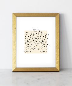 Spots Print  8x10 wall art by BelloPop on Etsy, $25.00
