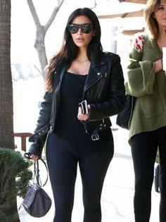 Kim Kardashian Photos: Kim Kardashian Lunches at Il Pastaio