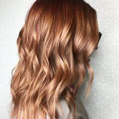 "3,264 Likes, 93 Comments - Aveda (@aveda) on Instagram: ""What would YOU call this #AvedaColor by #AvedaArtist @erinnelizahair? Strawberry blonde?…"""