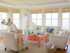 New Home Interior Design: Coastal-Inspired Interior Design Ideas