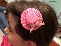 Nari Fantasy: Fermagli per capelli a forma di cappellini - Tutorial