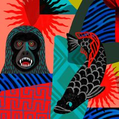 Macaco. #artebrasileira #pinturabrasileira #artecontemporanea #pinturacontemporanea #brazilianartist #acrylicpainting #rogeriopedro #maispoesia #contemporaryart #modernart #arte #art #brasil #brazil #arquitetura #artist #artwork #pintura #painting Modern Art, Contemporary Art, Graffiti, Digital Art, Painting, Illustration, Artwork, Movie Posters, Monkey