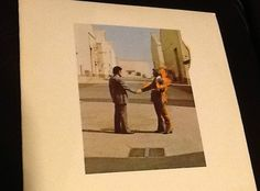 1975 Pink Floyd Wish You Were Here LP Vinyl Record Album Columbia BL 33453