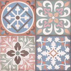 Graphic Patterns, Tile Patterns, Print Patterns, Algarve, Turkish Pattern, Decoupage Printables, Vintage Tile, Digital Scrapbook Paper, Ceramic Design