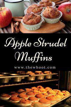 Apple Strudel Muffins Like Nana Makes