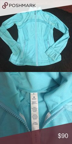 Lululemon athletica zip up jacket This is a barely worn zip up jacket! It is very comfortable and very flattering to your body! It is also very light weight. lululemon athletica Jackets & Coats