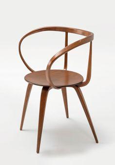 George Nelson, Pretzel Armchair, 1957, Collection, Vitra Design Museum, Photo: Vitra Design Museum Archive.