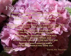 Friends Are Treasures – Encouragements By His Word Series My Precious, Cheryl, Blessing, Encouragement, Love You, God, Sayings, Friends, Dios