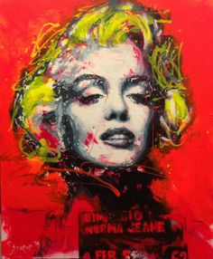 Marilyn, Say cheese! Mug Shots, Portrait Art, Marilyn Monroe, Give It To Me, Acrylics, Inspiration, Pencil, Paintings, Cheese