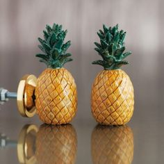 Pineapple Ceramic Knob | Door Knobs & Handles | Graham & Green