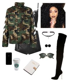 Untitled #1448 by yourmumschesthair on Polyvore featuring polyvore, fashion, style, MSGM, La Perla, Topshop, Gianvito Rossi, Yves Saint Laurent, Thomas Sabo, Ray-Ban, Kylie Cosmetics, Calvin Klein and clothing