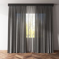 curtains and tulle 2 3d model max obj fbx mtl 1