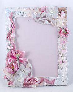 Мамина мастерская: Розовое-не совсем-шебби...