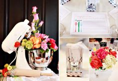 wedding shower ideas for kitchen theme  | Bridal Shower Inspiration from Hostess with the Mostess