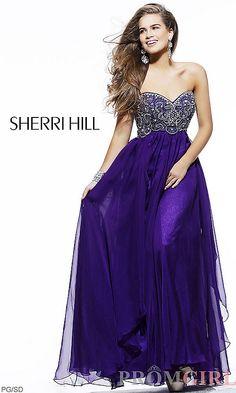 Beautiful dress by Sheri Hill
