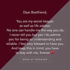 Thanks for coming in my life Anna ☺😊 I'm so blessed. Happy Birthday Best Friend Quotes, Real Friendship Quotes, Forever Quotes, Besties Quotes, Was Ist Pinterest, Wish Quotes, Heartfelt Quotes, Teenager Quotes, Reality Quotes