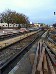 Rails running along. 10.26.2011