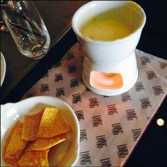Crispy Nachos with Cheese Sauce @ Long & Short