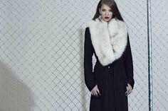 Wool Coat, Fur Coat, Stevie Nicks, Fall Winter 2015, Fur Collars, All About Fashion, Cashmere, Legs, Stylish