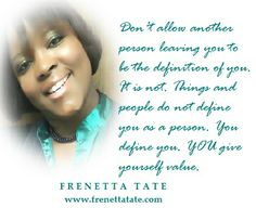 You value You. #EmpowerMyLifeFrenetta