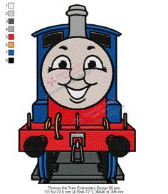 Train Embroidery Design Embroidery Pinterest Embroidery