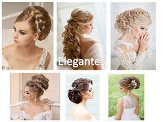 74 Ideas de Peinados para Bodas de todo tipos de cabellos y gustos Ideas, Fashion, Brides, Classy Hairstyles, Wedding Hair Styles, Elegant Wedding, Hair Type, Hair Care, Moda