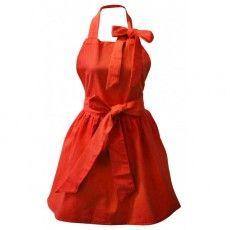 Fartuch kuchenny (czerwony) La Shelf