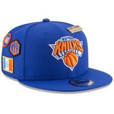 fa57ee7d9305b Men s New York Knicks New Era Royal 2018 Draft 9FIFTY Adjustable Hat