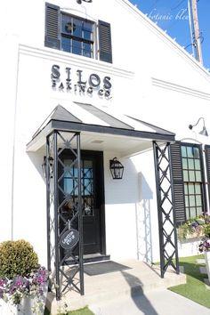 Silos Baking Co, Waco, TX building entrance Silos Baking Co, Bakery Store, Waco Tx, Antique Fairs, Outdoor Spaces, Outdoor Decor, Magnolia, Entrance, Shops